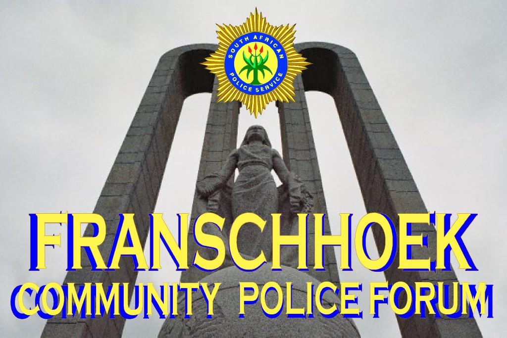 Franschhoek Community Police Forum