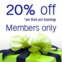 Membership Training discount promotion